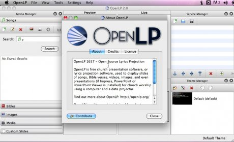 Download free OpenLP for macOS