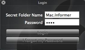 Folder Login