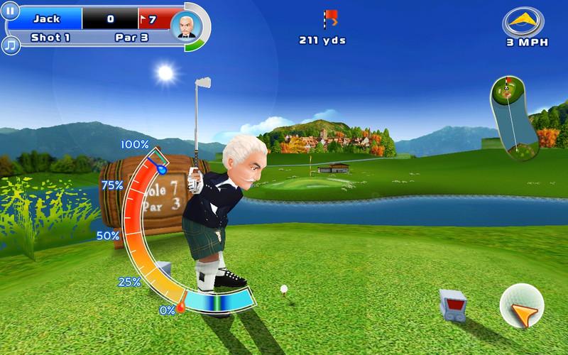 Let's Golf! 2 screenshot