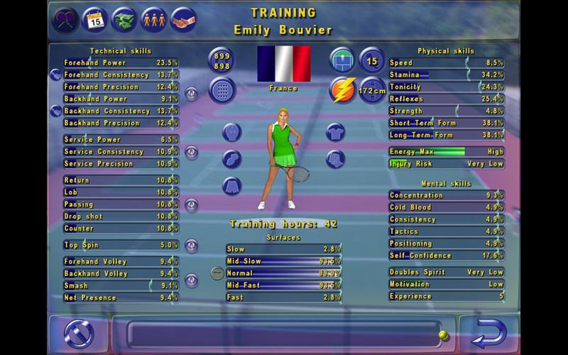 Tennis Elbow Manager screenshot