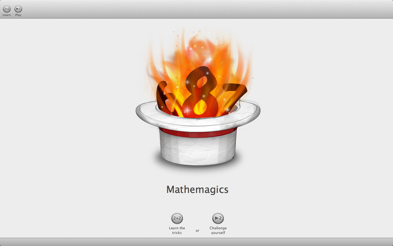 Mathemagics screenshot
