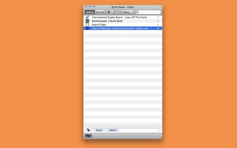 Quiet Read screenshot