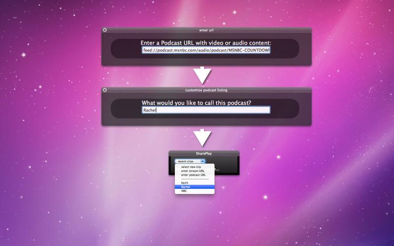 SharePlay screenshot