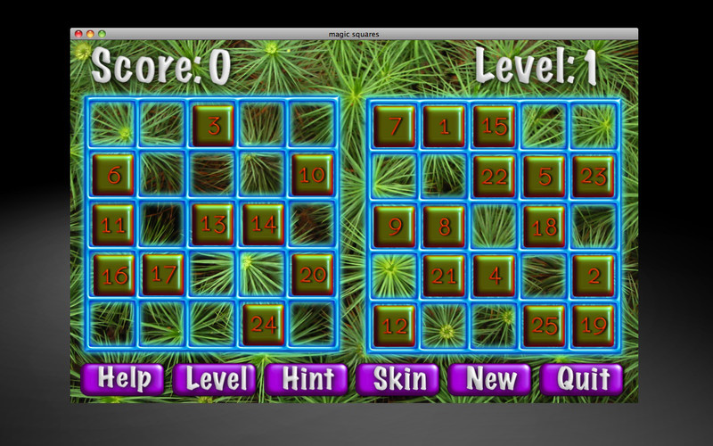 Magic Squares screenshot